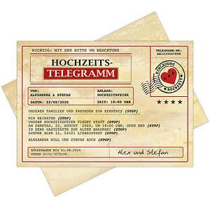 Einladungskarten-zur-Hochzeit-als-Telegramm-mit-UV-Farben-Einladung-Postkarte