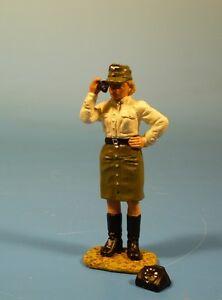 Elastolin Realistisch Lineol 7cm Serie Duftendes Aroma Nachrichtenhelferin Wehrmacht