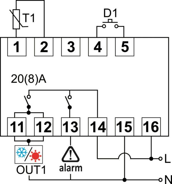 TEMPERATURREGLER Zeitschaltuhr RTC DIN Schiene Digital Thermostat Echtzeituhr