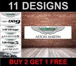Aston-Martin-Atelier-Garage-Drapeau-DB7-DB9-Vantage-V8-Dbs-Rapide