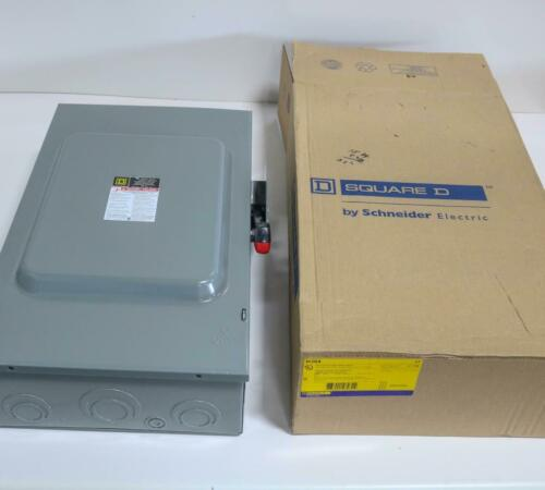 600V Heavy Duty Fusible Safety Switch Square D H364 Series F05 200A