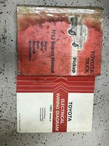 1983 Toyota Truck Service Shop Repair Workshop Manual Set W Wiring Diagram Oem Ebay