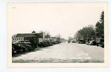 Sargent NE Rare Vintage RPPC Street Cars—O'Neill Photo 1948