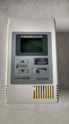Mitsubishi remote control  PAC-YT51CRB  71B-243 thermostat  hvac  USED