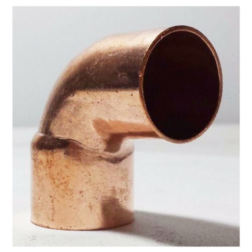 """COPPER PIPE FITTING 1 1//2/"""" 90 Degrees Street Elbow FTG x C"""