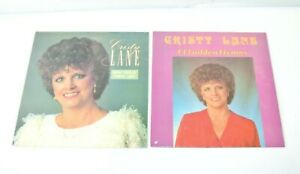 Lot-of-2-Cristy-Lane-Praise-Albums-034-How-Great-Thou-Art-034-amp-034-14-Golden-Hymns-034