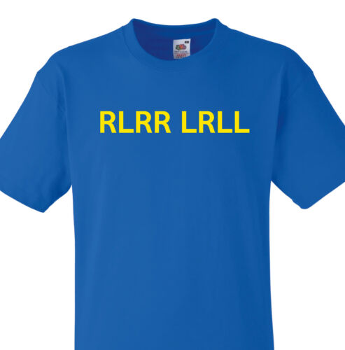 RLRR LRLL PARADIDDLE DRUMMER T SHIRT SNARE DRUM RUDIMENTS FUNNY MARCHING BAND