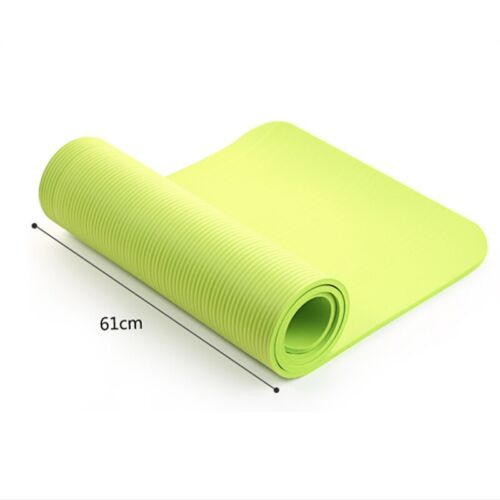 NUOVO tappetino yoga antiscivolo Esercizio Pilates Allenamento Sport spessa Cuscino palestra fitness