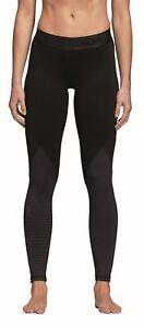 Adidas Sz XL Womens Black White Workout BQ2072 Long Tight Sweatpants Tights 190311546301 | eBay