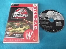 JURASSIC PARK OPERATION GENESIS PC CD-ROM V.G.C. FAST POST ( simulation game )