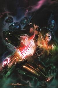 Details About Stuart Sayger Signed Nintendo Video Game Art Poster Print Metroid Samus Aran