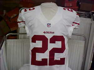 c747c836a 2015 NFL San Francisco 49ers Game Worn Team Issued Jersey Player  22 ...