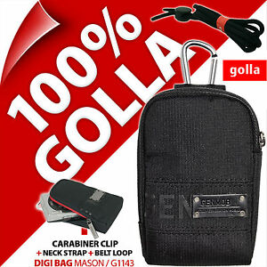 New-Golla-Universal-Compact-Digital-Camera-Case-Bag-Blue-for-Canon-Sony-Samsung