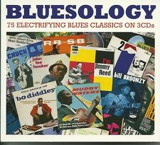 BLUESOLOGY - 3 CD BOX SET - MUDDY WATERS, BUDDY GUY & MORE Blues Music