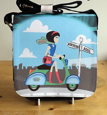 Quadrophenia Bag 60s Mod Scooter Bag Brighton Who Scootering Bag Shoulder Bag