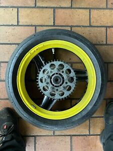 "Honda CBR600 PC23 Hinterrad 3.5J 17 "" Pollici Semi-Slick Pirelli diablo"