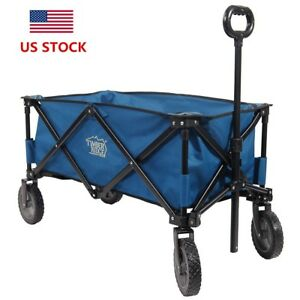 Image Is Loading Timber Ridge Portable Collapsible Folding Wagon Cart For