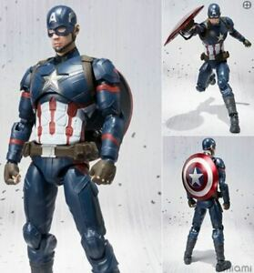 America-Captian-Figure-Marvel-Man-Action-Avengers-Iron-Thor-Series-Legends-Hulk