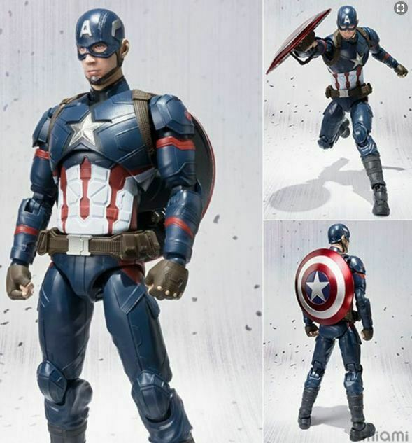 America Captian Figure Marvel Man Action Avengers Iron Thor Series Legends Hulk