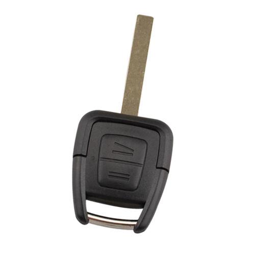Voiture Clé à Distance Case Key Fob 2 Bouton Pour Opel Vectra Zafira
