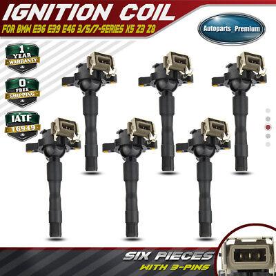 UF354 UF300 Ignition Coil on Plug Pack For BMW 323Ci 323i 325Ci 2.5L L6 M3 M5 X5
