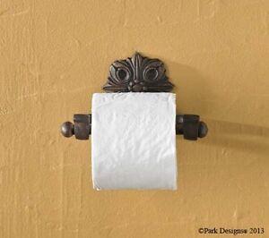 Park designs clifton decorative toilet paper tissue holder for Park designs bathroom accessories