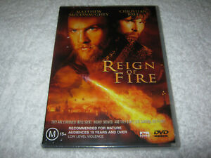 Reign-of-Fire-Matthew-McConaughey-New-Sealed-DVD-R4