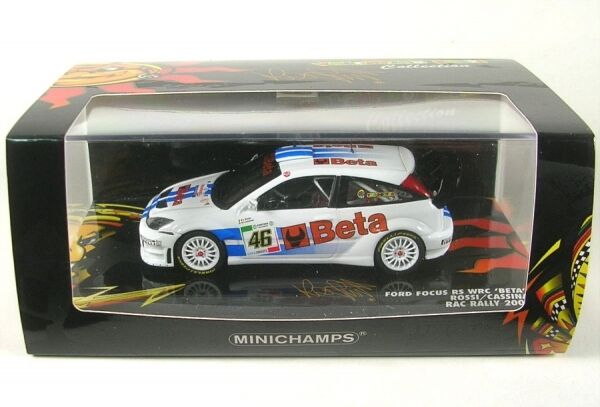 FORD FOCUS RS WRC numéro 46 MONZA COURSE 2007 ( V.ROSSI - Cassina)