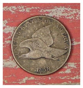 1858-FLYING-EAGLE-CENT-COLLECTOR-COIN-FOR-YOUR-SET-OR-COLLECTION