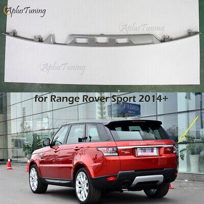 Black fit for Range Rover Sport 2014-2019 Rear Door Plate Bumper trim moulding
