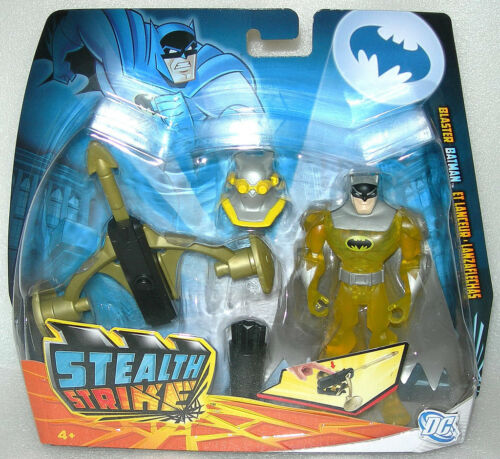 Batman The Brave and the Bold Stealth Strike Deluxe Action Figure BNIP Asst
