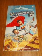 Superman III by William Kotzwinkle (Paperback, 1983)< 9780099320906