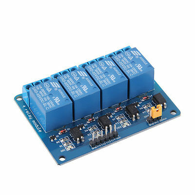 4 Channel 5V Relay Module Board Shield For PIC AVR DSP ARM MCU for Arduino TA