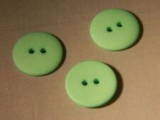 25 NEW 3/4 INCH MINT GREEN DULL/MATTE FINISH BUTTONS # 261CD29 - 20