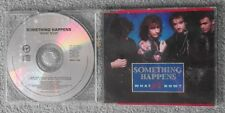 Something Happens - What Now? - Original UK 4 TRK CD Single