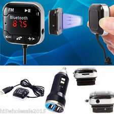 Wireless Car Kit Bluetooth MP3 Player Auto Radio FM Transmitter Modulator USB SD
