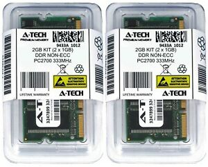A-Tech-2GB-2x-1GB-PC2700-Laptop-SODIMM-DDR-333-MHz-200-pin-non-ECC-Memory-RAM-2G
