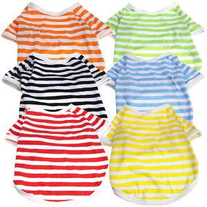 KM-Summer-Pet-Puppy-Dog-Cat-Strip-Casual-Apparel-Clothes-Vest-T-Shirt-Optimal