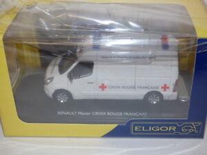 Eligor Renault Master Croix Rouge Francaise Ambulance