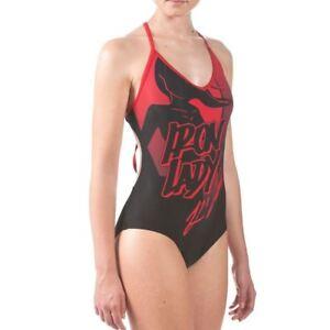 9ce35445ca Image is loading Arena-Iron-Lady-Training-Swimsuit-Elite-Black-Swimsuits