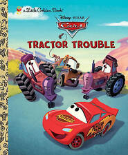 Tractor Trouble (Disney/Pixar Cars) (Little Golden Book)-ExLibrary