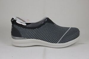 Skechers Women's Bobs Phresher Home Stretch Charcoal 31421/CCL Memory Foam Sz 8