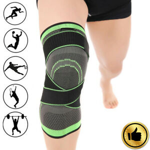 3D-Weaving-Knee-Brace-Pad-Support-Protect-Compression-Breathable-Running-Gym-GA