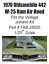 thumbnail 1 - W-25 Ram Air Hood for Johan 1970 Olds 442 1/25th Scale FAB Resinworks #25505
