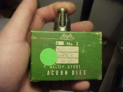 NOS Greenfield 3//4-10 TPI NC Acorn Die No.4 USA Machinist Pipe Fitter ETC