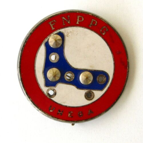 Très rare Médaille de Patinage Glace - FNPPG - UNEGA - Médaille de mérite
