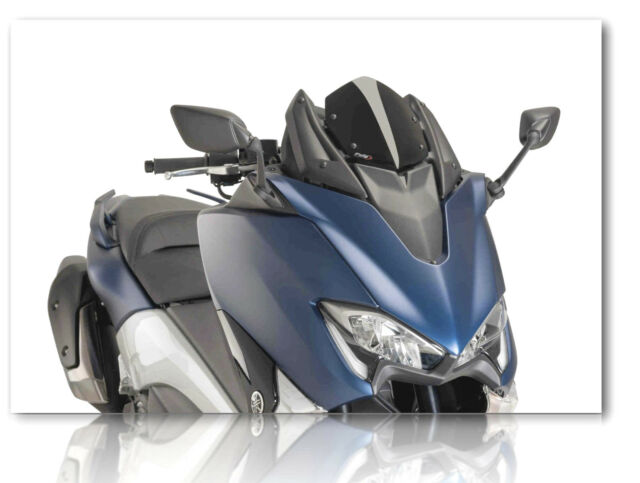 PUIG V-Tech Windscreen Supersport Dark Smoke 2017-2019 Yamaha T-MAX 530 9841F