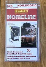 Square D Hom250gfi Circuit Breaker 50 Amp 2 Pole 120240 V Gfci