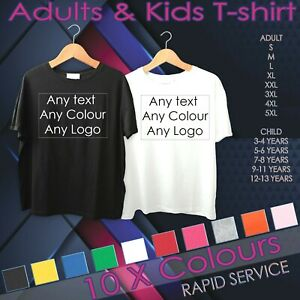 Personalised-T-shirt-Tee-Any-Photo-Any-Image-Any-Text-Top-Quality-Stag-Hen