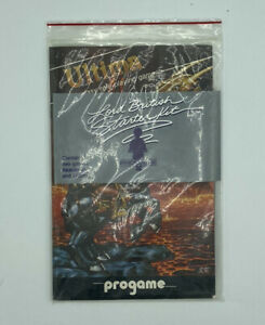 Vintage-Computer-Game-Ultima-I-amp-Akalabeth-Apple-II-1981-LORD-BRITISH